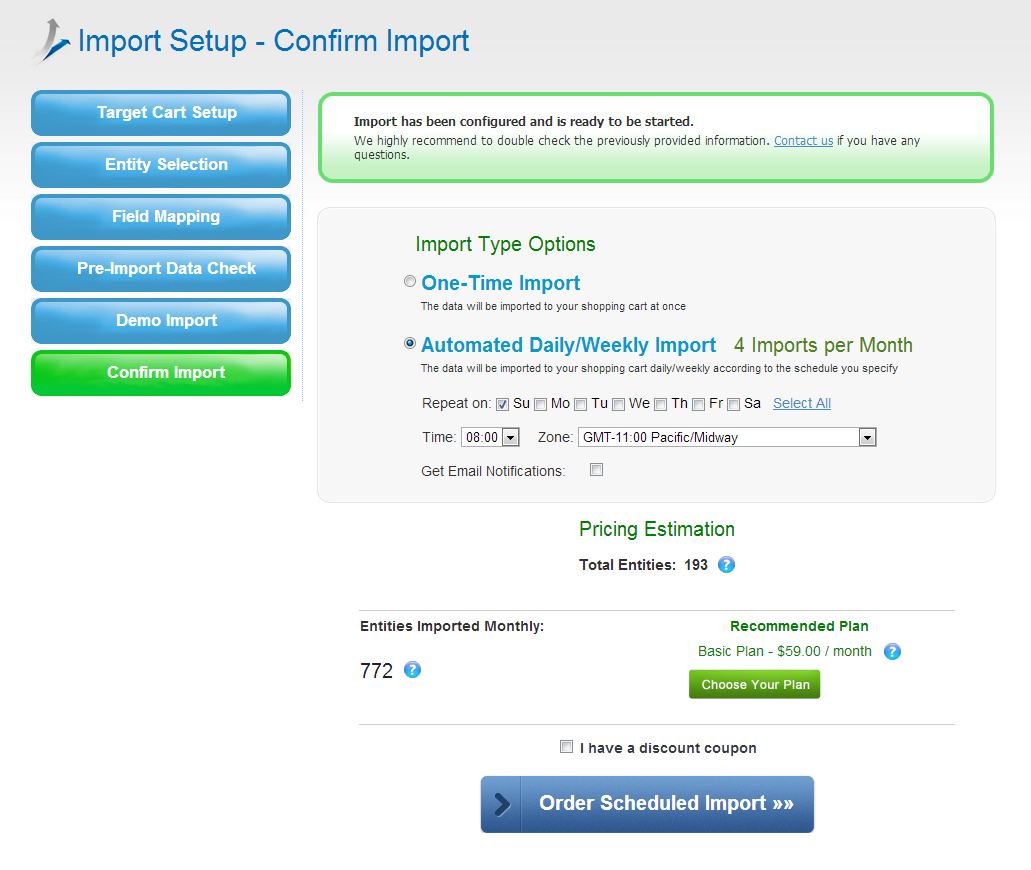 a simple guide on importing your products to magento store from