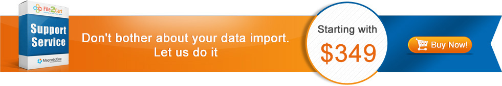 Don't bother about your data import
